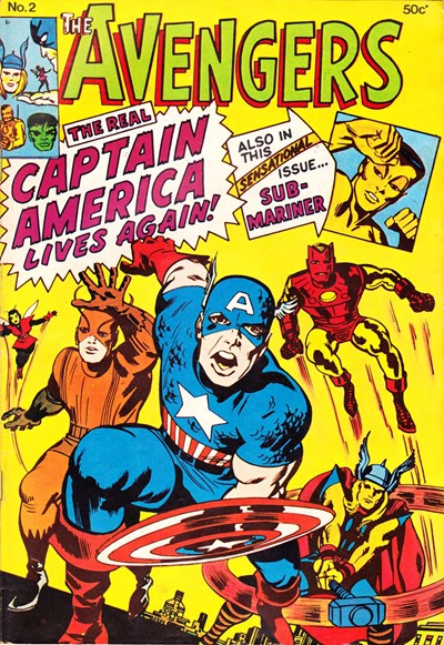 The Avengers (Yaffa, 1977? series) #2 ([April 1978?])