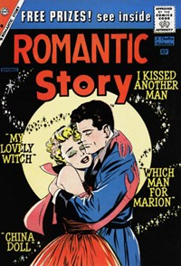 Romantic Story (Charlton, 1954 series) #46 — I Kissed Another Man