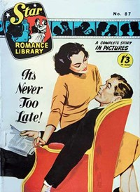 Star Romance Library (Apache, 1962? series) #87 — It's Never Too Late
