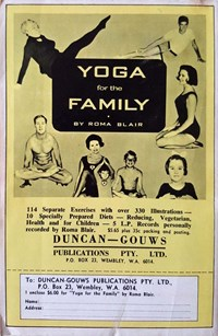 The Black Eagle (Duncan-Gouws, 1970? series) #1 — Yoga for the Family by Roma Blair (page 1)
