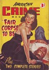 American Crime Magazine (Cleveland, 1953 series) #2 (February 1953) —Fair Corpse to Be