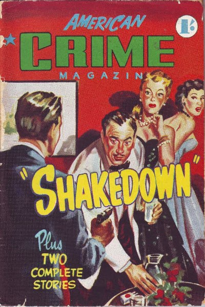 American Crime Magazine (Cleveland, 1953 series) #14 (April 1954)