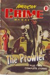 American Crime Magazine (Cleveland, 1953 series) #22 (December 1954) —The Prowler