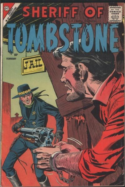 Sheriff of Tombstone (Charlton, 1958 series) #2 (February 1959)
