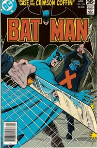 Batman (DC, 1940 series) #298 — Case of the Crimson Coffin!