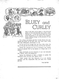 Bluey and Curley Annual (Herald, 1946? series)  — Bluey and Curley (page 1)