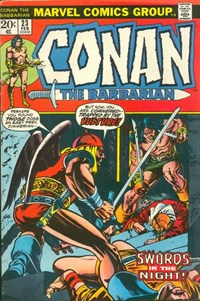 Conan the Barbarian (Marvel, 1970 series) #23 (February 1973)