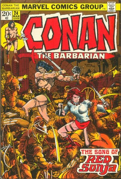 Conan the Barbarian (Marvel, 1970 series) #24 (March 1973)