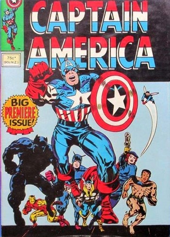 Captain America (Yaffa/Page, 1980? series)  ([1980?])