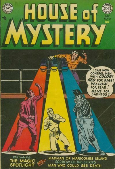 House of Mystery (DC, 1951 series) #21 (December 1953)
