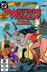 Wonder Woman (DC, 1942 series) #294 — Beware the Blockbuster!