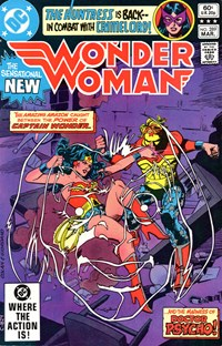 Wonder Woman (DC, 1942 series) #289 — His Name Is Psycho!