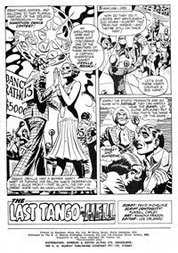 Weird Mystery Tales (KG Murray, 1973? series) #28 — The Last Tango In Hell (page 1)