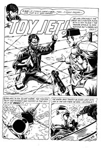 Weird Mystery Tales (KG Murray, 1973? series) #28 — The Toy Jet (page 1)