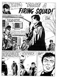 Weird Mystery Tales (KG Murray, 1973? series) #28 — Face a Firing Squad! (page 1)