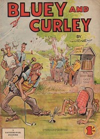 Bluey and Curley Annual (Herald, 1946? series) #1954 — Untitled (Cover)