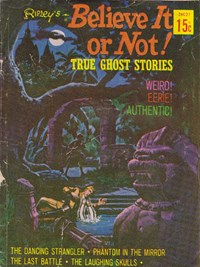 Ripley's Believe It or Not! True Ghost Stories (Rosnock, 1974?) #24027 ([1974])