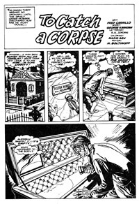 Terror Tales Album (Murray, 1978 series) #9 — To Catch a Corpse (page 1)
