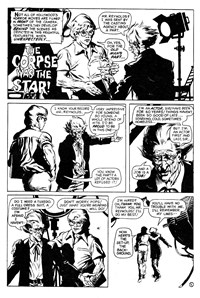 Terror Tales Album (Murray, 1978 series) #9 — The Corpse was the Star (page 1)