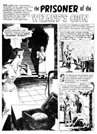 Terror Tales Album (Murray, 1978 series) #9 — The Prisoner of the Wizard's Coin (page 1)