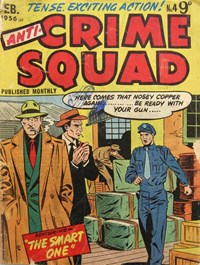 Anti-Crime Squad (Jubilee, 1955 series) #4 — The Smart One (Cover)