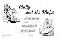 Wally and the Major [Herald] (Herald and Weekly Times, 1942? series) #10 — Wally and the Major (page 1)