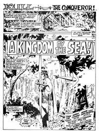 Kull the Conqueror (Yaffa/Page, 1977 series) #2 — A Kingdom by the Sea! (page 1)