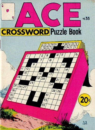 Ace Crossword Puzzle Book (Yaffa/Page, 1970? series) #33 ([July 1972])