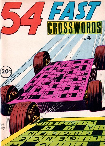 54 Fast Crosswords (Yaffa/Page, 1970? series) #4 (December 1971)