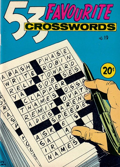 53 Favourite Crosswords (Yaffa/Page, 1970? series) #19 ([September 1971])