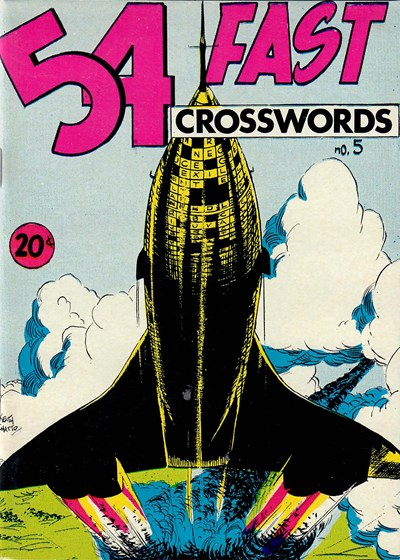 54 Fast Crosswords (Yaffa/Page, 1970? series) #5 ([July 1972])
