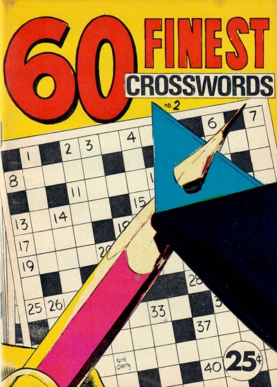 60 Finest Crosswords (Yaffa/Page, 1971 series) #2 ([March 1972])