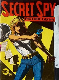 Secret Spy Picture Library (Yaffa/Page, 1973 series) #2 — Untitled (Cover)