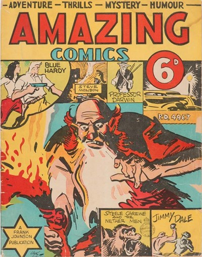 Amazing Comics (Frank Johnson, 1941)  ([July 1941])