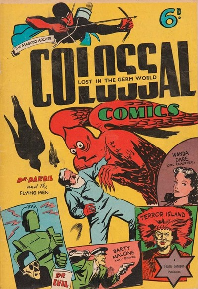 Colossal Comics (Frank Johnson, 1942?)  ([1942?])
