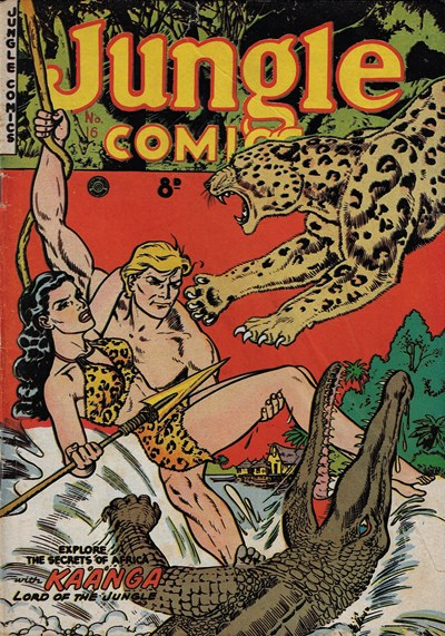 Jungle Comics (HJ Edwards, 1950? series) #16 ([1952?])