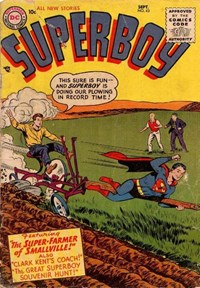 Superboy (DC, 1949 series) #43 — Untitled
