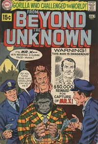 From Beyond the Unknown (DC, 1969 series) #5 — Gorilla Who Challenged the World!