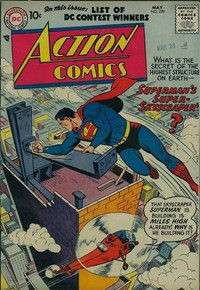 Action Comics (DC, 1938 series) #228 — Superman's Super-Skyscraper