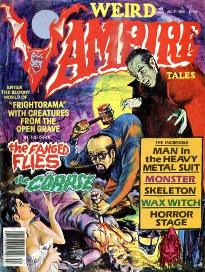 Weird Vampire Tales (Modern Day, 1979 series) #Vol. 4 No. 3 (July 1980)