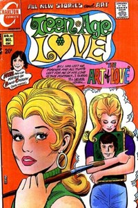 Teen-Age Love (Charlton, 1958 series) #80 (December 1971)