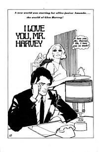 All Love Romantic Stories (Sport Magazine, 1972 series) #3 — I Love You, Mr. Harvey (page 1)