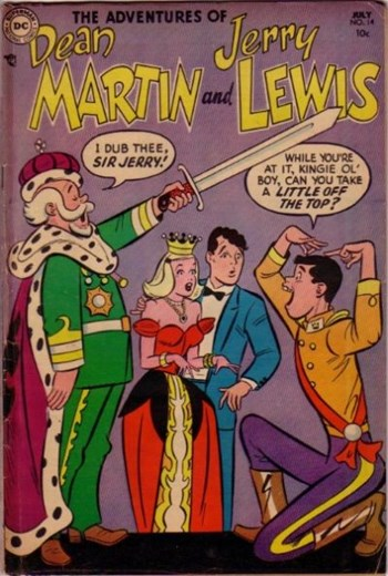 The Adventures of Dean Martin & Jerry Lewis (DC, 1952 series) #14 (July 1954)