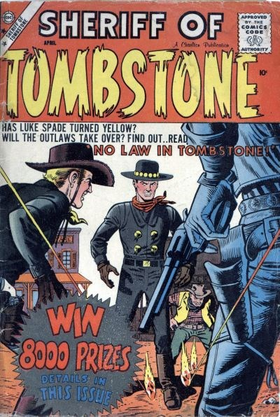Sheriff of Tombstone (Charlton, 1958 series) #3 (April 1959)