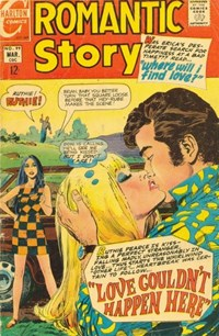 Romantic Story (Charlton, 1954 series) #99 — Love Couldn't Happen Here