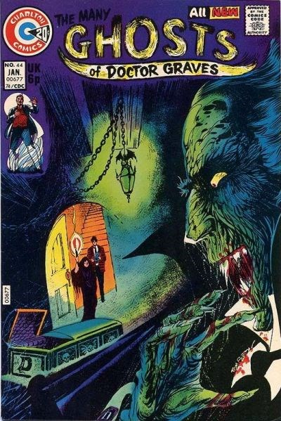 The Many Ghosts of Dr. Graves (Charlton, 1967 series) #44 (January 1974)