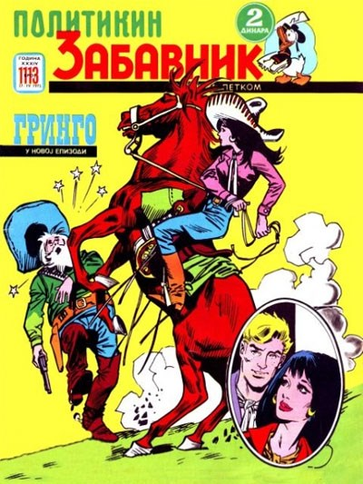 Politikin Zabavnik (Politika, 1952 series) #1113 (27 April 1973)