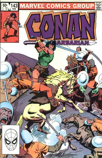 Conan the Barbarian (Marvel, 1970 series) #143 (February 1983)