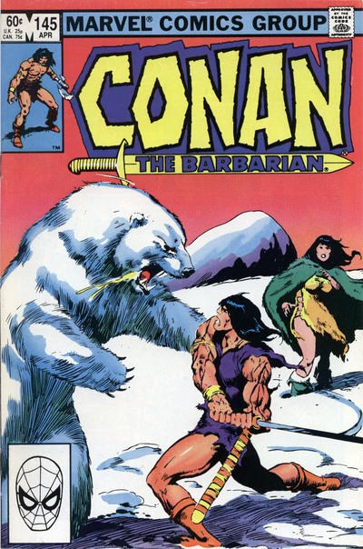 Conan the Barbarian (Marvel, 1970 series) #144 (March 1983)