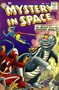 Mystery in Space (DC, 1951 series) #55 (November 1959)